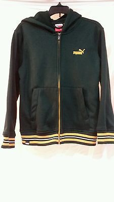 20% off of almost everything until the end of the month. Please view my ebay shop by clocking on this link Boys size small Puma dark green and yellow full zipper hoodie excellent cond.