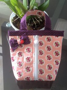Bag Patterns To Sew, Sewing Patterns, Crochet Patterns, Tutorial Diy, Diy Bags Purses, Cloth Pads, Simple Bags, Patch Quilt, Grab Bags