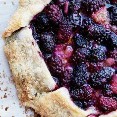 Oregon Marionberry Galette Recipe