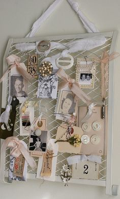 Inspiration Board by Rebecca Sower, via Flickr