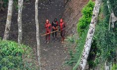 Uncontacted tribes - Drilling For Oil In The Amazon Rainforest Of Indigenous People