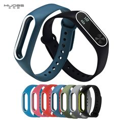 Watchbands Colorful Silicone Wrist Strap Bracelet For Mi Band 2 Double Color Replacement Watchband Smart Band Accessories For Xiaomi Mi2 To Win Warm Praise From Customers