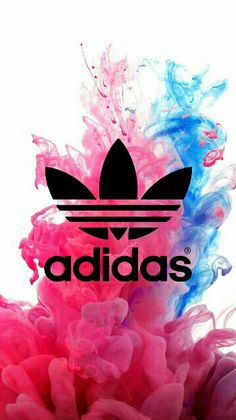 Adidas // Fond d'ecran // Iphone Wallpaper // Tendance // Logo // Fashion Rose Pink
