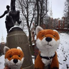 #AdmissionsVixen Rose got in touch with her inner Paul Revere at Old North Church. #oneifbylandtwoifbysea #midnightrideofpaulrevere