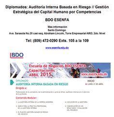 Diplomados: Auditoría Interna / Gestión Estratégica del Capital Humano por Competencias -Publicidad