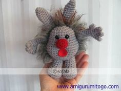 Dust Bunnies Crochet Free Crochet Pattern @Judy Shaw make this for Claire! It's the dust bunny from big comfy couch!