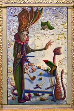 Buy TAROT'S WIZARD - ( framed ), Mixed Media painting by Carlo Salomoni on Artfinder. Discover thousands of other original paintings, prints, sculptures and photography from independent artists.