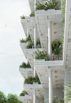 Gallery of Penda Designs Sky Villas with Vertical Gardens for Hyderabad - 19