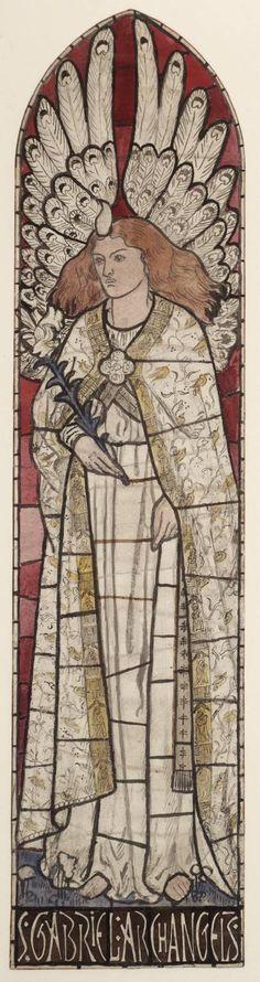 WILLIAM MORRIS, THE ARCHANGEL GABRIEL, N.D.