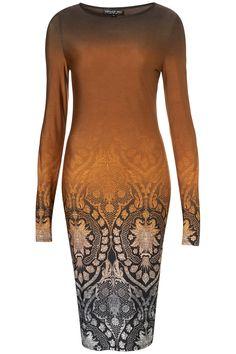 TOPSHOP TALL ombre bodycon midi dress (£40)
