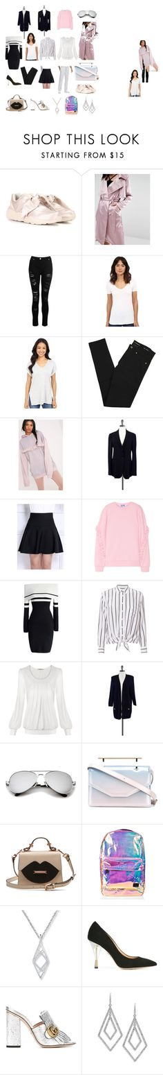 """My 12 Key Pieces"" by zzyy9911 on Polyvore featuring Puma, Dorothy Perkins, Three Dots, Culture Phit, Yves Saint Laurent, Armani Collezioni, WithChic, Steve J & Yoni P, Chicwish and Equipment"