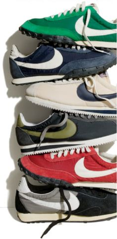 pretty nice d0d03 019d4 Nike Vintage Collection for J. Crew Vintage Nike, Running Sneakers, Shoes  Sneakers,