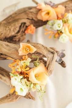 Sarasota Wedding from Paper Moss + Photography Orange Wedding, Day Planners, Orange Flowers, Fall Looks, Beach Themes, Look Fashion, Earthy, Style Me, Bloom