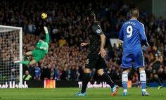 Chelsea FC vs. Man City | Oct 27, 2013 Fernando Torres