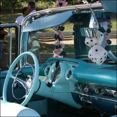 '57 Chevy w/ fuzzy dice