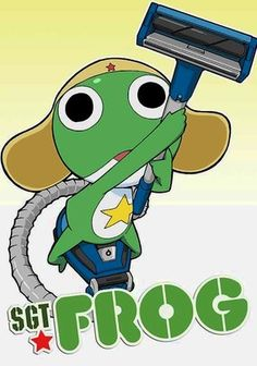 Sgt. Frog (2004) Earth is under invasion by a contingent of five froglike aliens, but humankind has no reason to worry: The quintet is headed by lazy, accident-prone Keroro -- aka Sgt. Frog -- who couldn't lead a dog on a leash.
