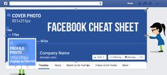UPDATED: Facebook Page Dimensions Cheat Sheet [INFOGRAPHIC] Posted By Deanna Zaucha in Infographics, Social Media Strategy