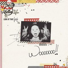 Digital Scrapbook page created by JennBarrette featuring Project Mouse by Sahlin Studio & Britt-ish Designs