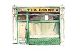 Tea Rooms_Museum Street. © Eleanor Crow