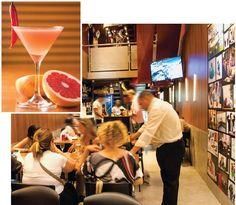 Bar escritório, o ambiente remete ao mundo corporativo é uma nova opão na região no fim da Rua Voluntário da Pátria.