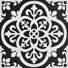 Gothic Peel and Stick Floor Tiles <br> Make a statement with these bold black and white floor tiles. The gothic-style motif is simply stunning. Gothic Peel and Stick Floor Tiles contains 10 pieces on 10 sheets that measure 12 x 12 inches. Peel And Stick Floor, Peel And Stick Vinyl, Vinyl Tile Flooring, Vinyl Tiles, Vinyl Rug, Kitchen Flooring, Kitchen Backsplash, Kitchen Dining, Self Adhesive Floor Tiles