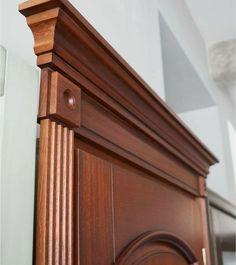 Wooden Front Door Design, Door Gate Design, Wooden Front Doors, House Front Design, Door Frame Molding, Moulding, Cornice Design, Ceiling Design, Interior Design Living Room