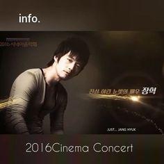 WEBSTA @ just.janghyuk.zoi - It's tonight★ @ajincome ~Cinema Talk :Jang Hyuk 2016 시네마음악회 2016-09-24 21:00~ 今夜ですね、ヒョクのトーク ^^#장혁 #janghyuk #チャン・ヒョク #시네마음악회 -- zoi