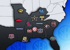 """#SEC i'm sure they just forgot oklahoma -were just about as """"southern"""" as you can get"""