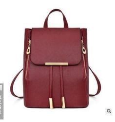 1f24d8e3528 Women Backpack High Quality New upgrade soft skin PU Mochila Escolar School  Bags For Teenagers Girls Top-handle Backpacks