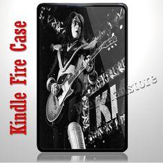 Ace Frehley Kiss Guitaris Kindle Fire Case | Merchanstore - Accessories on ArtFire