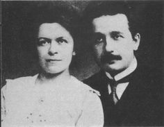 Various historians have concluded that Einstein's first wife, Mileva, may have secretly contributed to his work. Now a new analysis seeks to settle the matter. Special Relativity, Theory Of Relativity, Albert Einstein Facts, Robert Einstein, Einstein Time, Philosophy Of Science, Cool Illusions, Complicated Love, Theoretical Physics