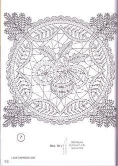 crochet patterns of Doilies, Tablecloths, Pillows, Coasters Free Crochet Doily Patterns, Crochet Doily Rug, Crochet Doily Diagram, Bobbin Lace Patterns, Crochet Tablecloth, Crochet Art, Crochet Home, Thread Crochet, Crochet Flowers