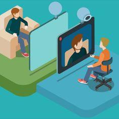 Fie că folosești Skype, Zoom, Google Hangouts, Viber sau Discord, pregătirea tehnică a unei videoconferințe este necesară, și devine esențială în cazul unei întâlniri virtuale de afaceri. Cum lucrul de acasă a devenit brusc o necesitate, este important să te pregătești corespunzător înainte de o videoconferință cu seful, colegii de muncă sau partenerii de afaceri. Family Guy, Guys, Google, Fictional Characters, Art, Art Background, Kunst, Performing Arts, Fantasy Characters