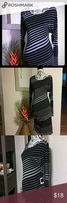 Jessica Simpson maternity dress Long sleeve maternity shirt style dress. Rayon and spandex blend provides stretch fit Jessica Simpson Dresses