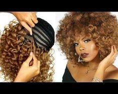 Box Braids Hairstyles, French Braid Hairstyles, Braids Wig, Curly Crochet Hair Styles, Curly Hair Styles, Natural Hair Styles, Crochet Curly Hairstyles, Curly Crochet Braids, Afro Wigs