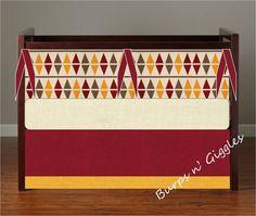 Harry Potter Gryffindor Baby Crib Bedding by LittleBurpsnGiggles, $239.00