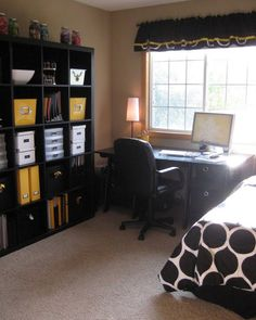 Like this setup for our guest room. I need an office!!