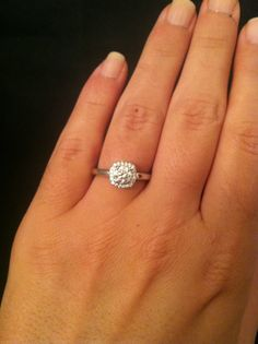 The most perfect engagement ring there ever was
