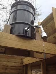 How To Make A Rain Barrel Shower Garden Shed Pinterest