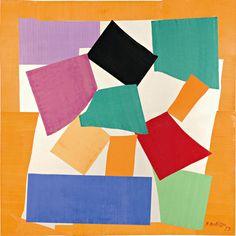 The Snail, 1953. Tate © Succession Henri Matisse/DACS 2013. #art #artists #matisse