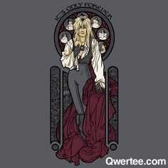 It's Only Forever   Qwertee : Limited Edition Cheap Daily T Shirts   Gone in 24 Hours   T-shirt Only £8/€10/$12   Cool Graphic Funny Tee Shirts