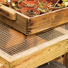 Diy Potting Bench Plans Free Diy Garden Pinterest