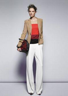 Mango look book #THEOUTNET #FashionMath