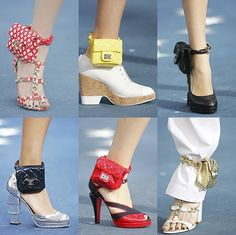 Ankle purses?!? I wonder why this trend hasn't taken off...