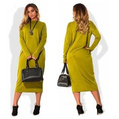 A Day At the Office Casual Long Sleeve Dress