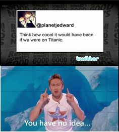 Jedward. Russell Howard <3 #funny #comedy
