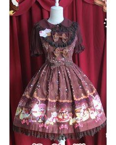 Infanta Sweet Cream Cat Lolita JSK Dress 3 Colors