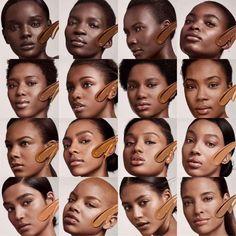 Shades of Fenty - Rihanna's Foundation range