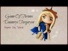 Daenerys Targaryen Game of Thrones polymer clay tutorial