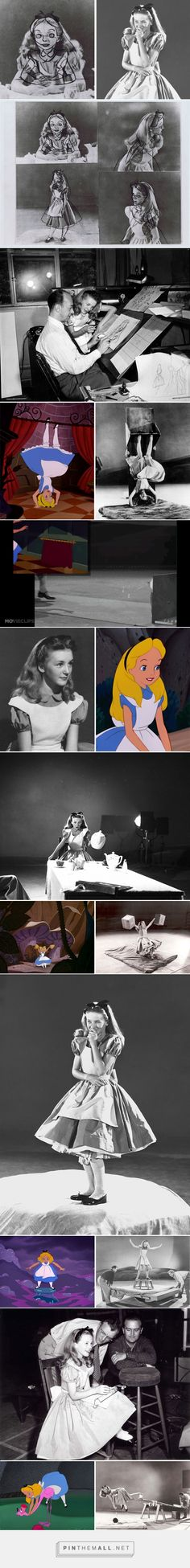 Old Photos Reveal How Disney's Animators Used A Real-Life Model To Draw Alice In Wonderland Disney Fun Facts, Disney Jokes, Funny Disney Memes, Cute Disney, Disney And Dreamworks, Disney Pixar, Walt Disney, Disney Theory, Disney And More